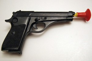 Toy Gun--Image by Joe Loong