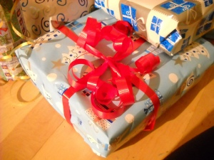 Christmas Gift--Image by Jennifer C.