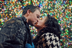Christmas Kiss--Image by Jessy Rone