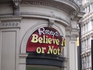 Believe it or not--Image by Eliott Brown