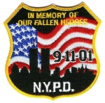 9-11 Patch--Image by Dave Conner
