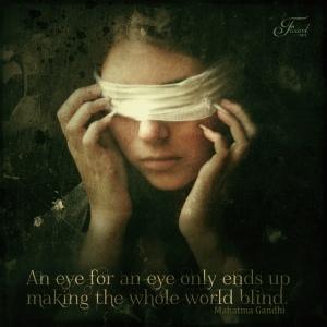'Blind'--Image by Priscilla Santana