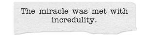 Incredulity.9